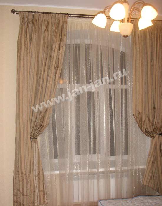 в гостиную.  Самые красивые шторы в.