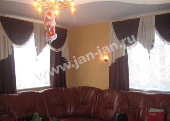 Самые красивые шторы в гостиную фото в.